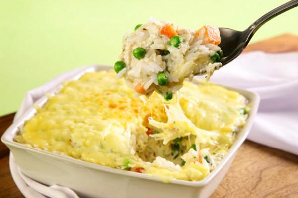 22_Arroz de forno com legumes e queijo